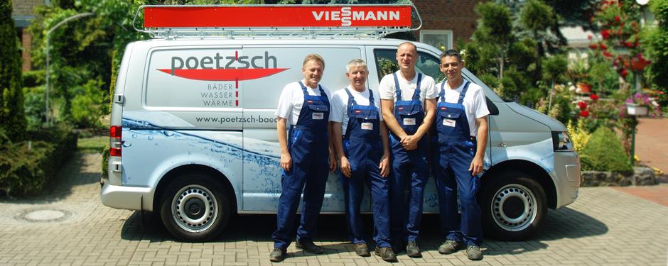 Matthias Poetzsch (links) und sein Team